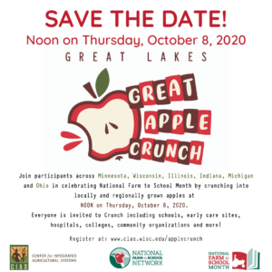 save the date 2020 apple crunch image